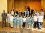 Koncert uczniów klas pierwszych
