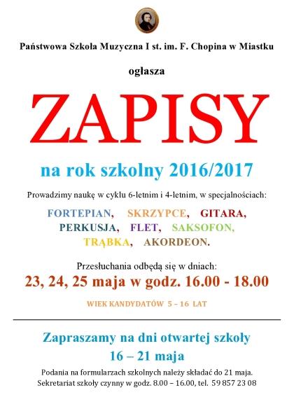 kolor ZAPISY 2016-17